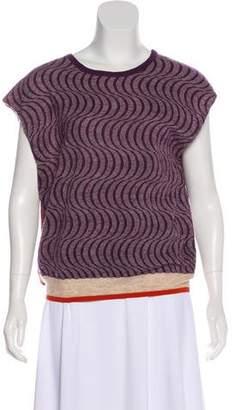 Dries Van Noten Wool-Blend Sleeveless Sweater