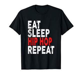 Eat Sleep Hip Hop Repeat T-shirt | Rap