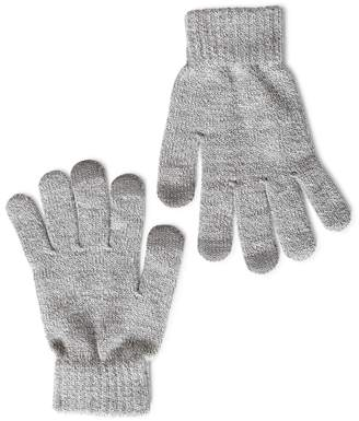 The Idle Man Smart Touch Gloves Grey