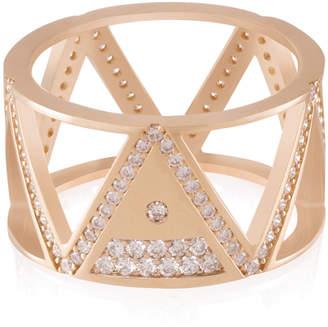 Shamsa Alabbar Tricrop Nun Diamond Ring