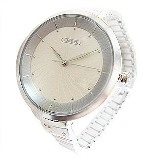 Abiste (アビステ) - [アビステ]ABISTE ラウンドフェイスメタル時計/シルバー 9200033S/S