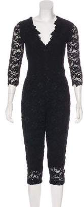Nightcap Clothing Lace Long Sleeve Jumpsuit