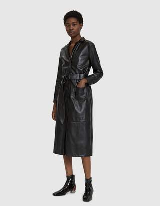 Farrow Talia Faux Leather Coat