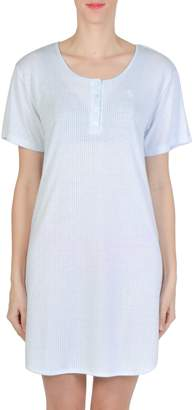 Claudel Scoop Neck Short Nightgown