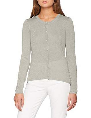 Only Women's Onldarling L/s Cardigan Cc KNT (Light Grey Melange Detail:W. Silver Glitter), (Manufacturer Size: X-Large)