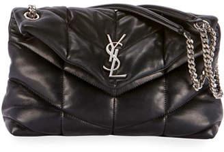 Saint Laurent Lou Lou Puffer Shoulder Bag