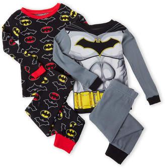c214637ac9a33 Batman Boys 8-20) 4-Piece Character PJ Set
