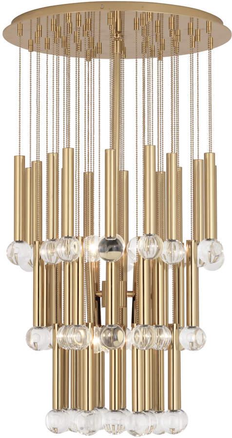 jonathan adler milano twinkle chandelier. Black Bedroom Furniture Sets. Home Design Ideas