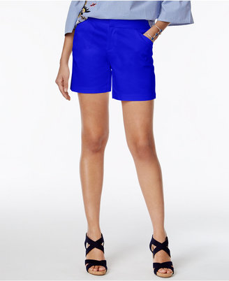Inc International Concepts Curvy-Fit Shorts, Only at Macy's $49.50 thestylecure.com