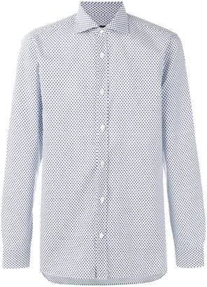 Ermenegildo Zegna floral print shirt