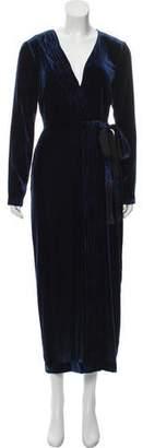 Rachel Zoe Velvet Maxi Dress