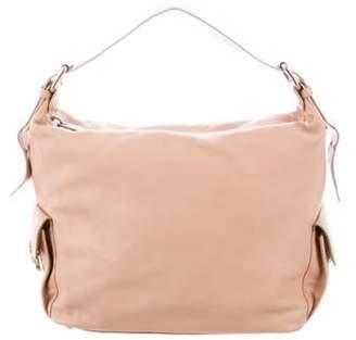 Marc Jacobs Leather Handle Bag Beige Leather Handle Bag
