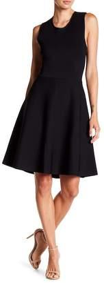 A.L.C. Este Lace-Up Back Fit & Flare Dress