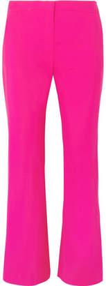 Altuzarra Nettle Wool-blend Flared Pants - Pink