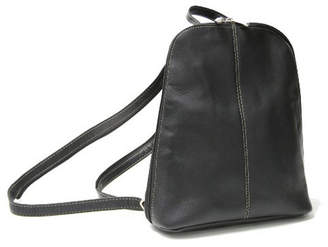 Royce Leather Royce Zip Around Sling Backpack in Colombian Genuine Leather