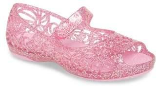 Crocs TM) 'Isabella' Jelly Flat (Walker, Toddler, Little Kid & Big Kid)