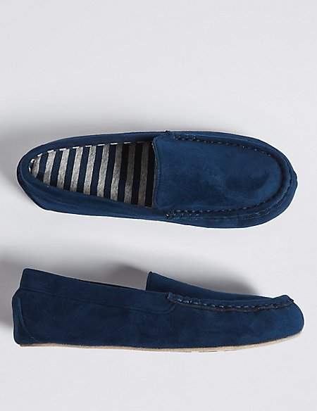 Kids' Moccasin Slippers (13 Small - 7 Large)