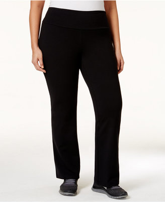 Style & Co Plus Size Tummy-Control Stretch Pants, Only at Macy's $27.98 thestylecure.com