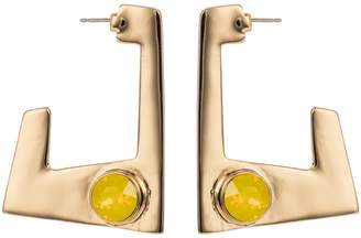 Nadia Minkoff - Geo Earrings Gold Yellow