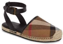 Burberry Perth Ankle Strap Sandal