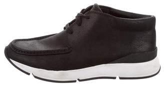 Vince Suede Mid-Top Sneakers
