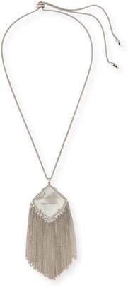 Kendra Scott Kingston Necklace in Silvertone Plate