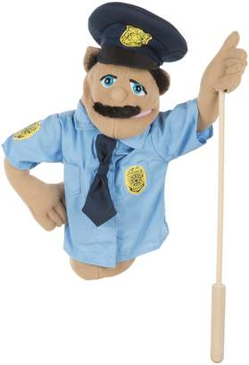 Melissa & Doug Puppets Plush Police Officer Toy