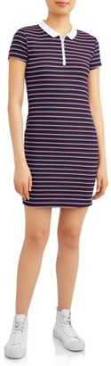 Eye Candy Juniors' Polo Body Con Dresses with Zipper