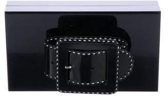 Charlotte Olympia Belted Box Clutch