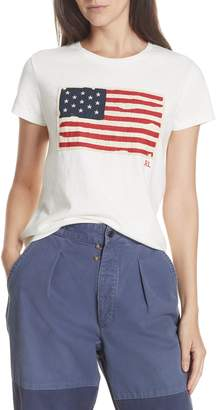 Polo Ralph Lauren Flag Applique Tee