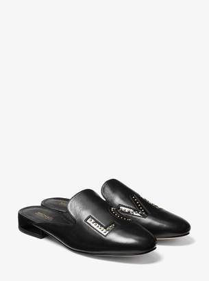 MICHAEL Michael Kors Natasha Love Leather Slide