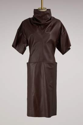 Maison Margiela Leather Dress