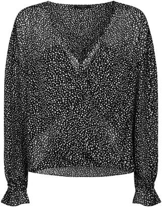 AllSaints Penny Splash Top