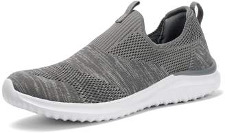 Comfy Moda Women's Breathable Comfortable Slip-On Running Shoes,Easy Walk,Outdoor,Exercise,Athletic,Fashion,Lightweight, Casual Sneakers - Sun Shine (9, )