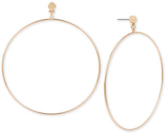 BCBGMAXAZRIA Large Drop Hoop Earrings