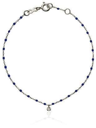 Gigi Clozeau blue WG diamond and white gold bracelet