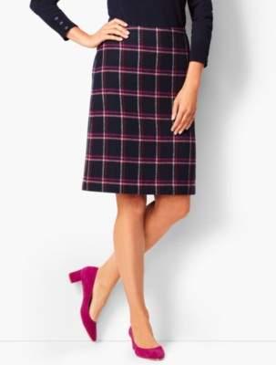 Talbots Herringbone A-Line Skirt