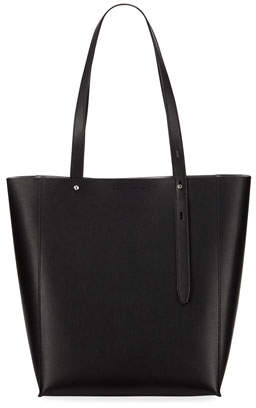 Rebecca Minkoff Stella Large Leather Tote Bag, Black
