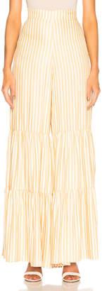 Adriana Degreas Striped Wide Leg Pant