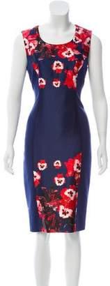 Prabal Gurung Sleeveless Floral Print Dress