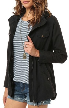 O'Neill 'Wendy' Hooded Jacket $59 thestylecure.com