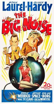 Laurèl Wall Art Import The Big Noise Top L-R: Stan Oliver Hardy Center: Doris Merrick On Poster Art 1944 Tm And Copyright 20Th Century Fox Film Corp. All Rights Reserved./Courtesy Everett Collection Movie Poster Masterprint (11 x 17)
