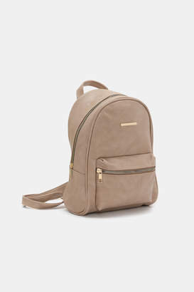Ardene Mini Faux Leather Backpack