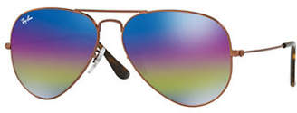 Ray-Ban Polarized 58mm Aviators