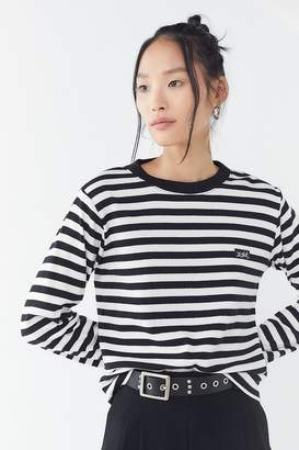 X-girl Basic Striped Long Sleeve Ringer Tee