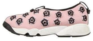 Christian Dior Fusion Embellished Sneakers Pink Fusion Embellished Sneakers