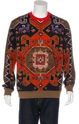 Givenchy Aztec Print Sweatshirt