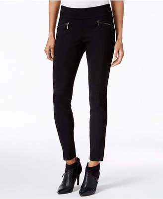 Bar Iii Zip-Pocket Pull-On Skinny Pants, Created for Macy's $49.50 thestylecure.com