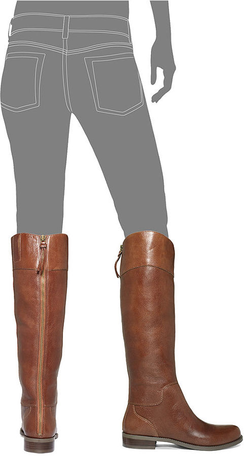 Nine West Counter Zip-Back Riding Boots