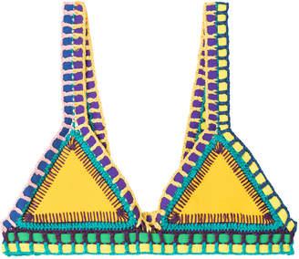 Kiini Ro Crochet Trimmed Bikini i Top
